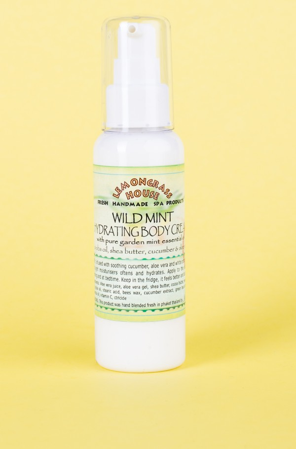 BODY CREAM WILD MINT 120ml