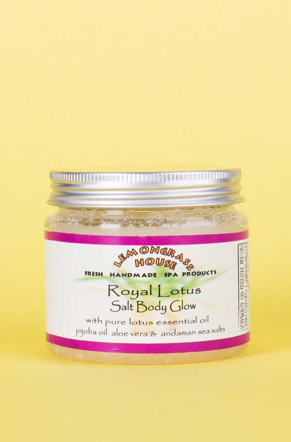BODY SCRUB ROYAL LOTUS (SALT GLOW) 200G