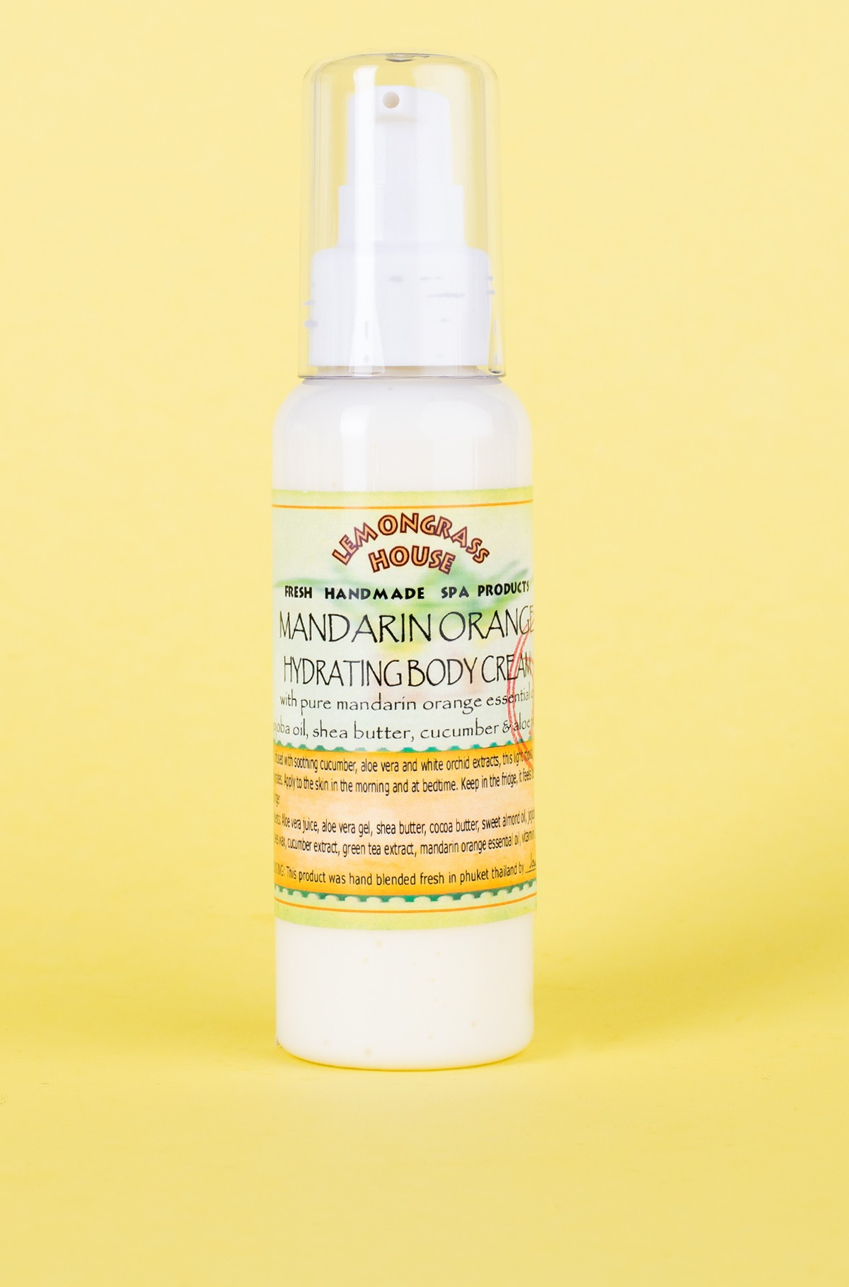 Kūno kremas Mandarin 120 ml-full-1