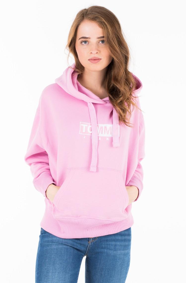 e0f268ed1080 Hoodie TJW CLEAN LOGO HOODIE Tommy Jeans, Womens Sweatshirts | Denim ...