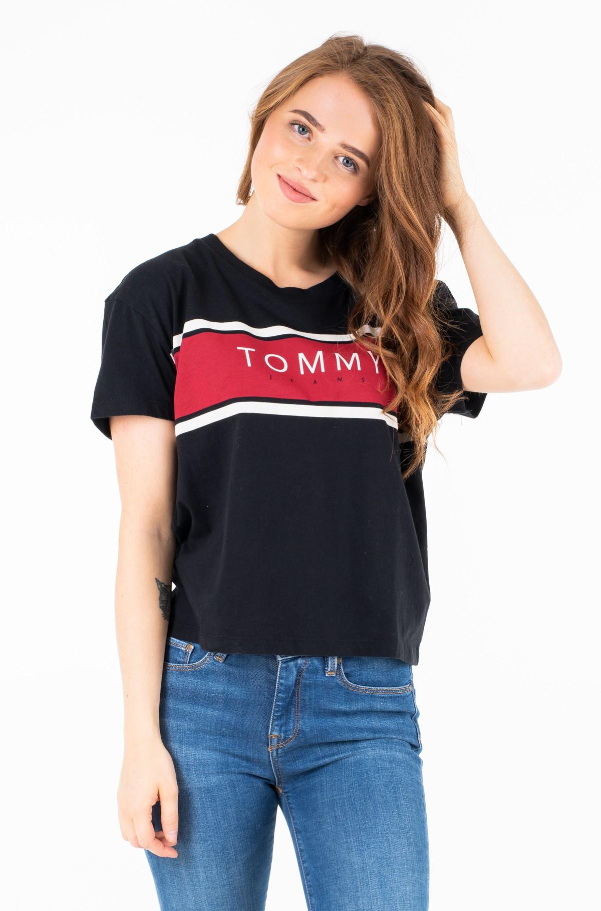 T-särk TJW STRIPE LOGO TEE-full-1