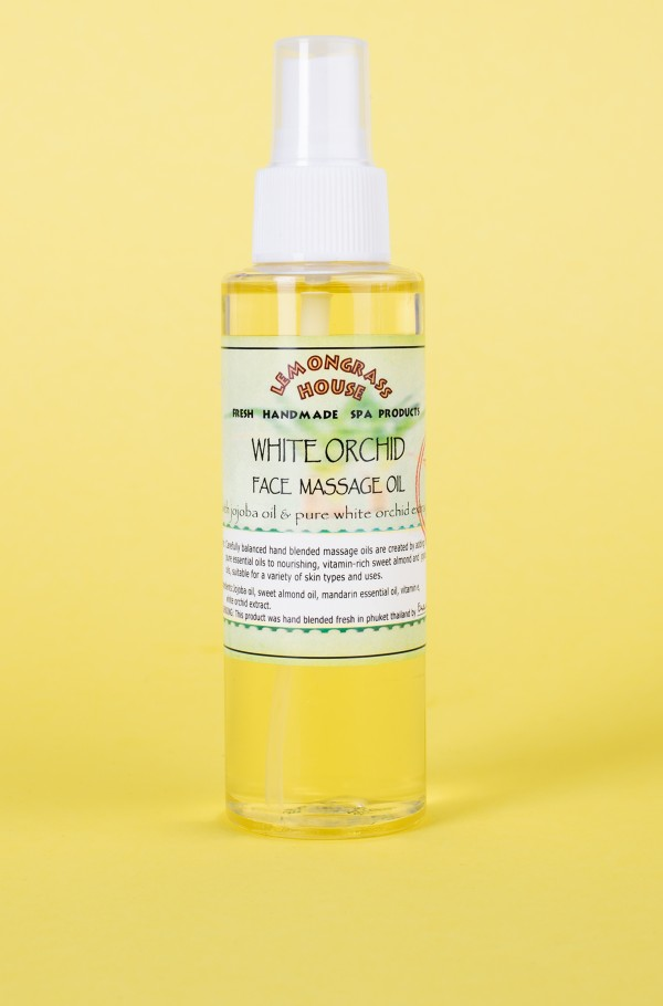 Face oil white  orchid 120 ml