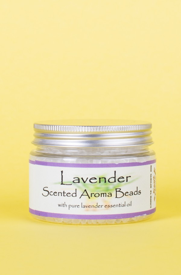 SCENTED AROMA BEADS LAVENDER 150 ML
