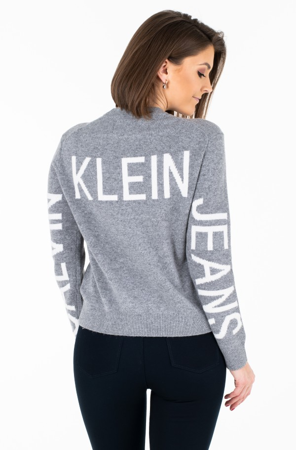 INSTITUTIONAL BACK LOGO SWEATER-hover