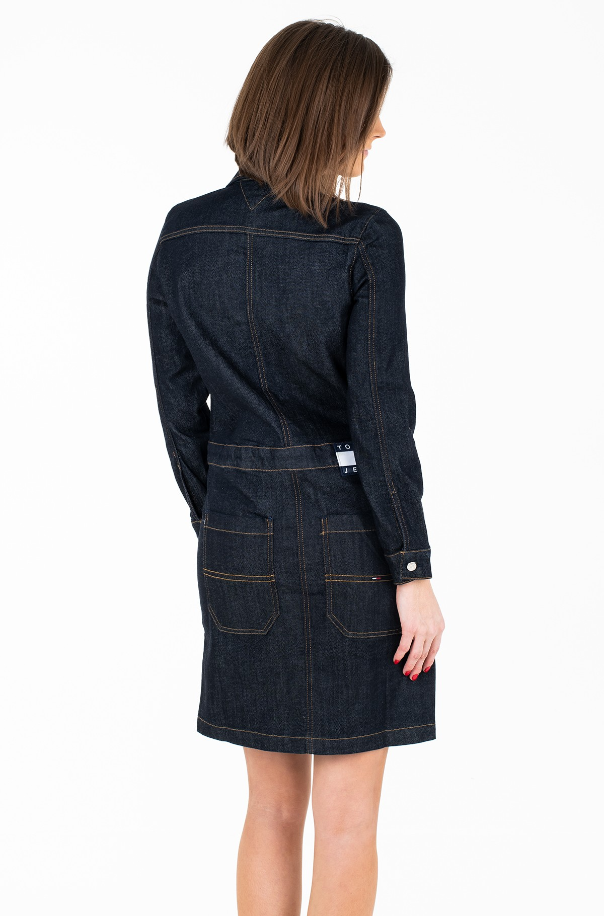 Kleit TJW DENIM DRESS L/S TYLRD-full-2