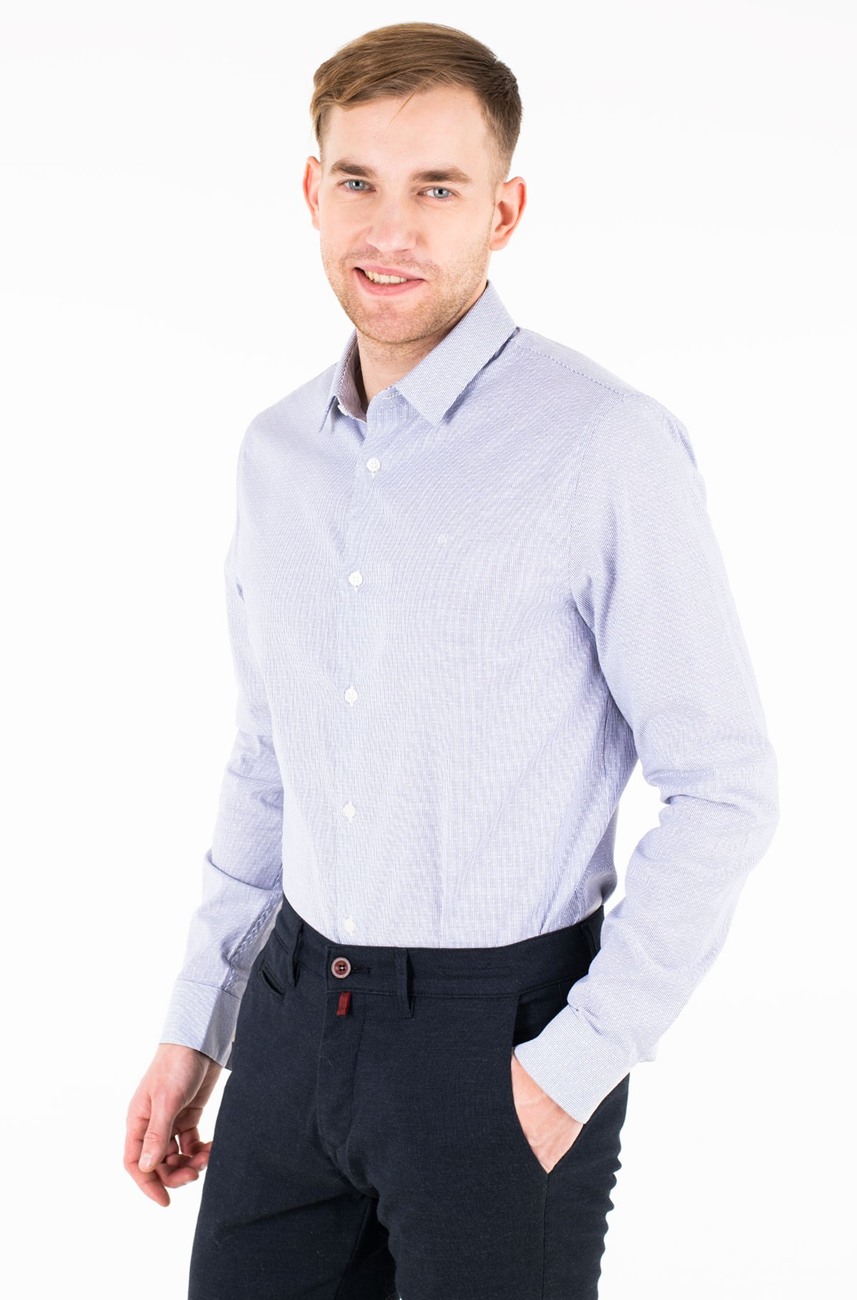 Triiksärk CKJ DOBBY SLIM STRETCH SHIRT-full-1
