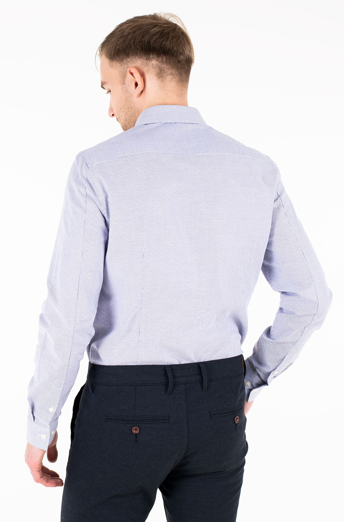 Triiksärk CKJ DOBBY SLIM STRETCH SHIRT-full-2
