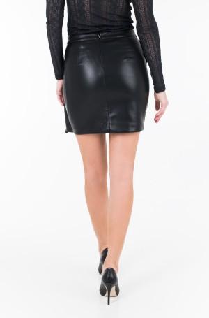 Leather skirt W84B10 K80D0-2
