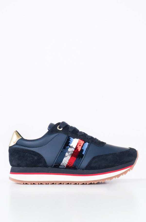 TOMMY SEQUINS RETRO RUNNER