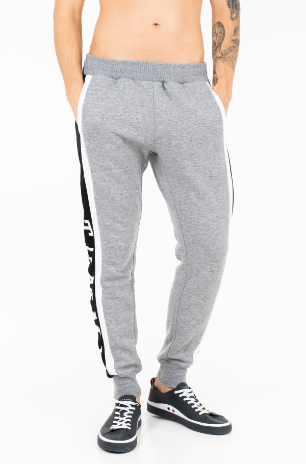 SNAP BUTTON SWEATPANTS