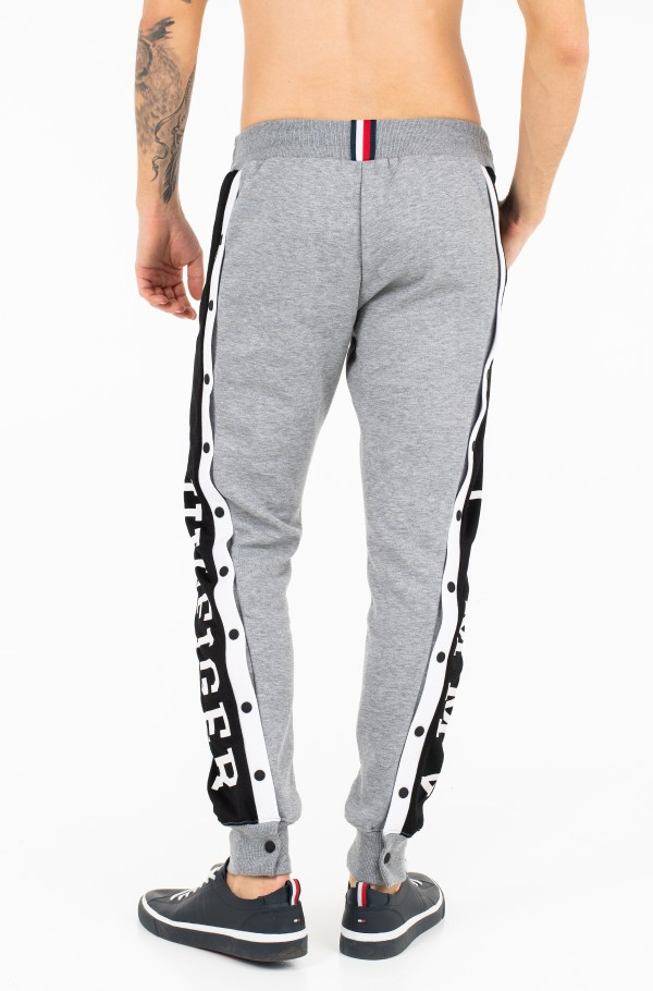 SNAP BUTTON SWEATPANTS-hover