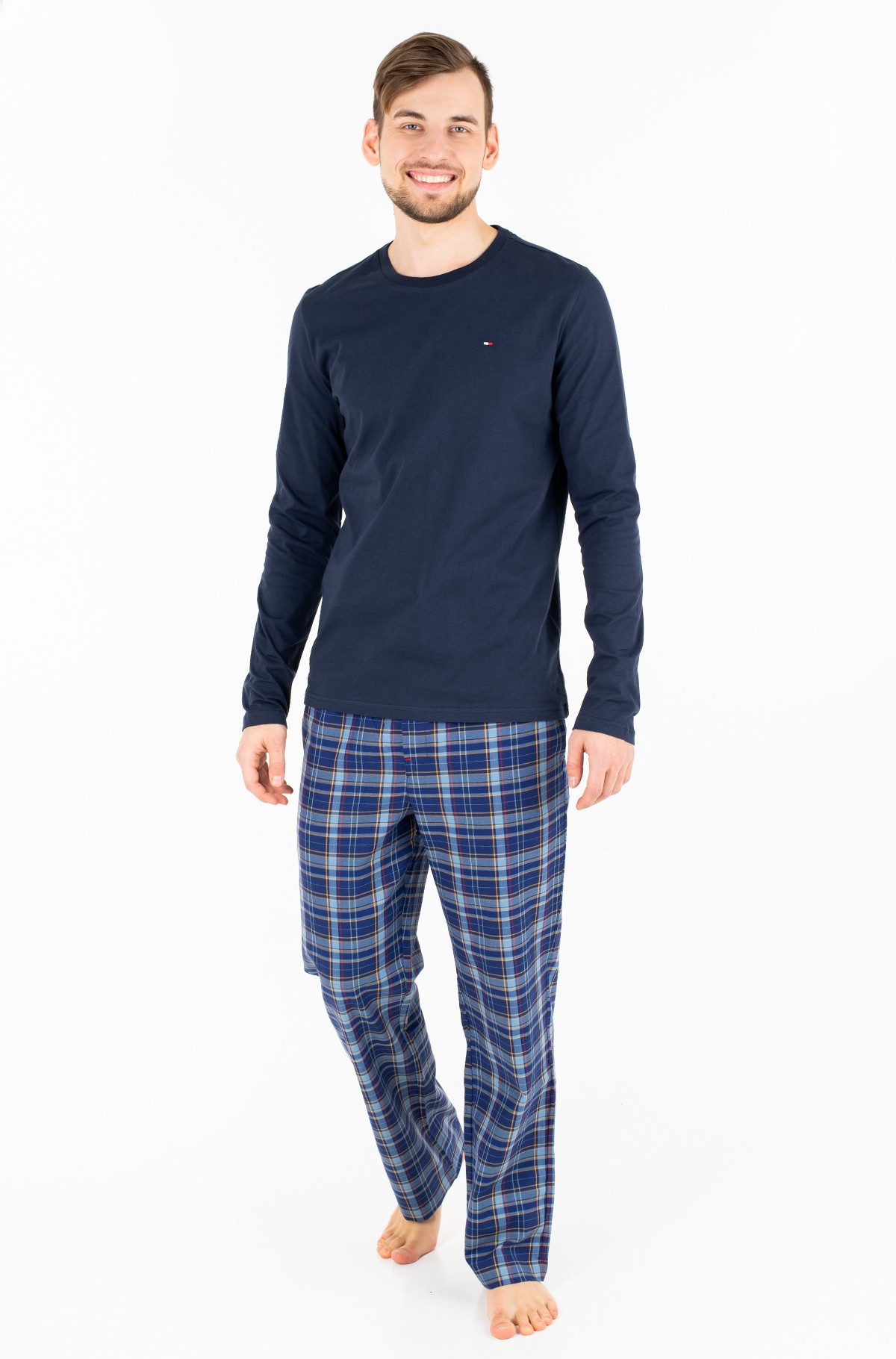 Pižama WOVEN SET LS-full-1