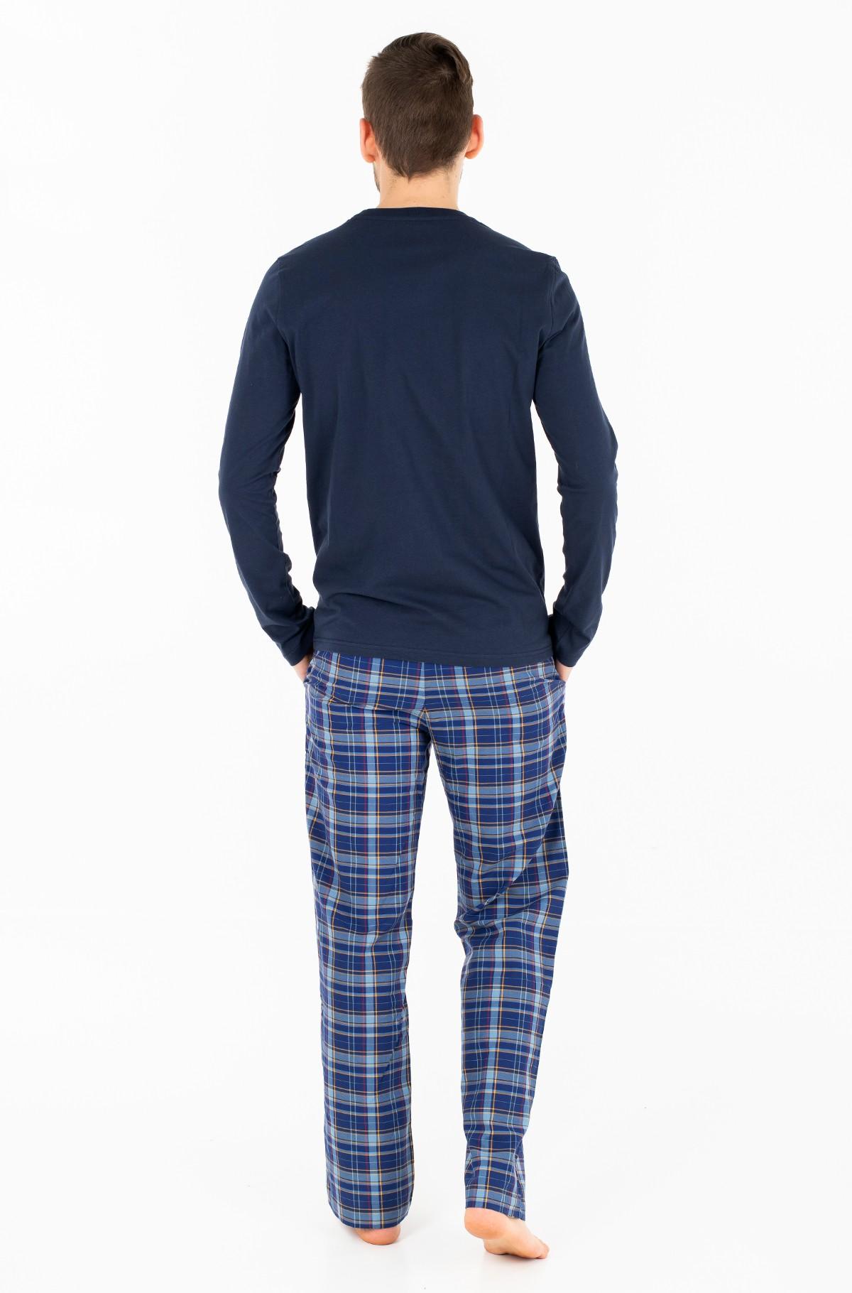 Pižama WOVEN SET LS-full-2