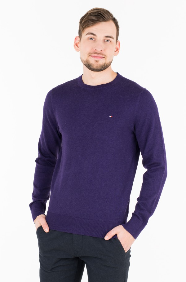 COTTON SILK CREW NECK