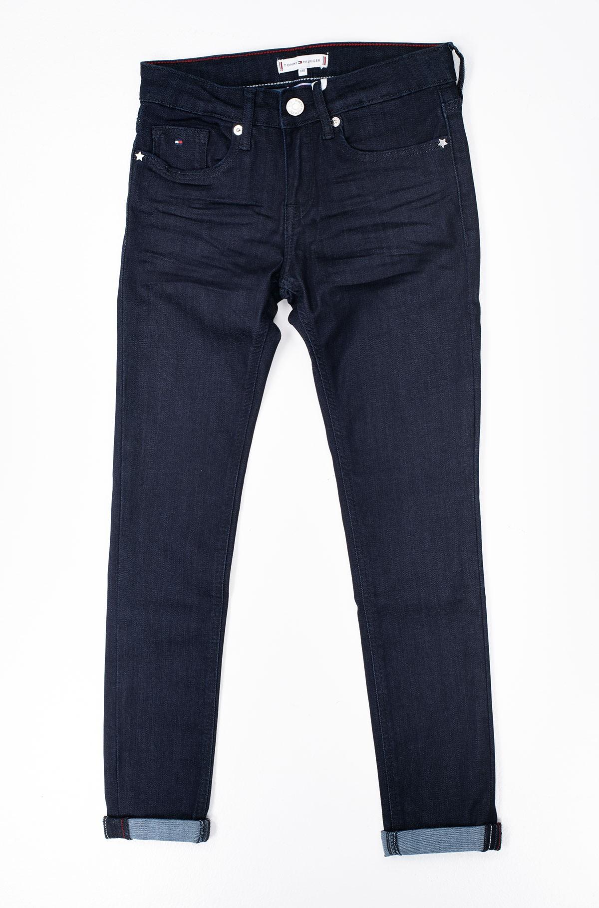 Vaikiškos džinsinės kelnės NORA SKINNY NARBST-full-1