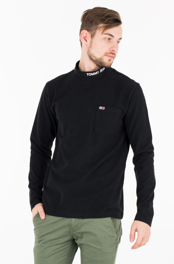 TJM POCKET MOCK NECK
