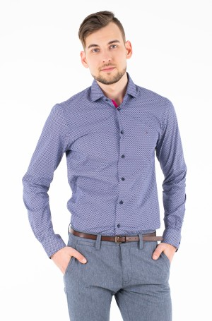 Triiksärk STRETCH PRINT CLASSIC SLIM SHIRT-1