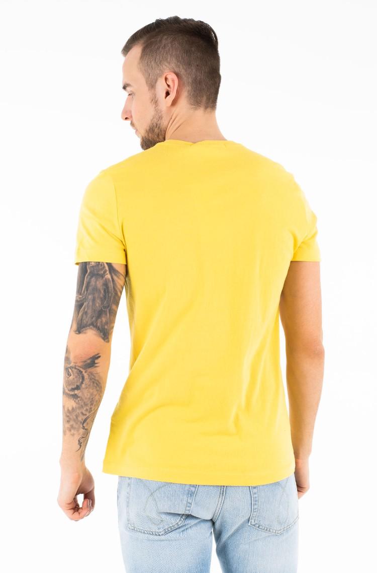 a26e4e7c22b5 yellow2 T-shirt CORE INSTITUTIONAL LOGO SLIM TEE Calvin Klein ...