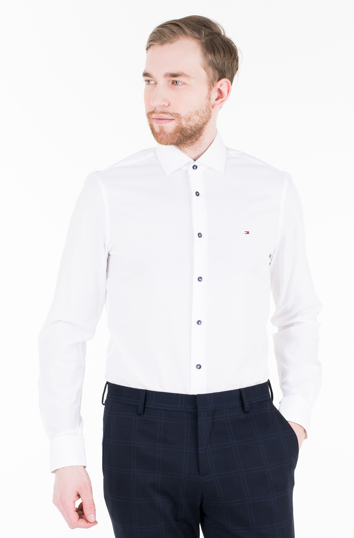 Triiksärk STRETCH CLASSIC SLIM SHIRT-full-1