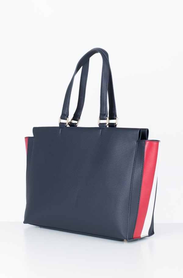 EFFORTLESS SAFFIANO EW TOTE-hover