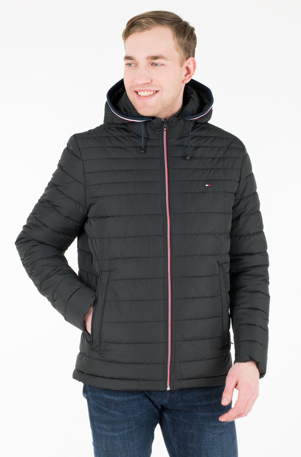 LATHAN DETACHABLE HOODED JACKET