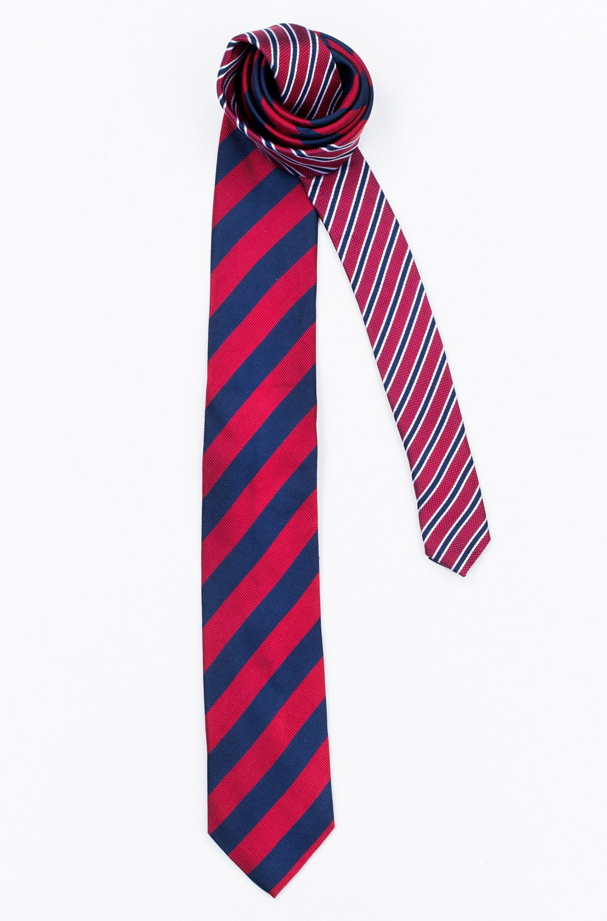 Lips SILK CLUB STRIPE 7CM TIE	-full-1