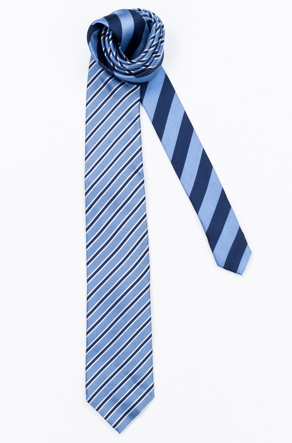 Lips SILK STRIPE 7CM TIE	-full-1