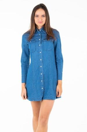 Kleit INDIGO TENCEL SHIRT DRESS-1