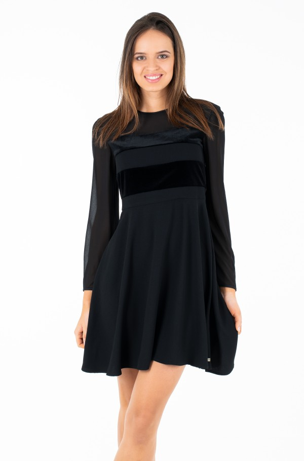 LEILA DRESS LS