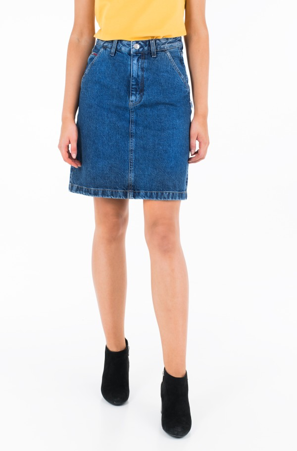 A LINE DENIM SKIRT GHMB
