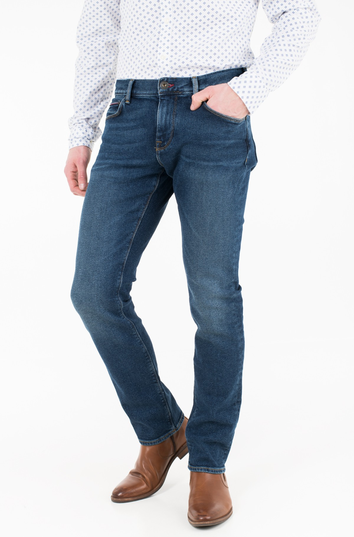 Jeans STRAIGHT DENTON STR AMMON BLUE-full-1