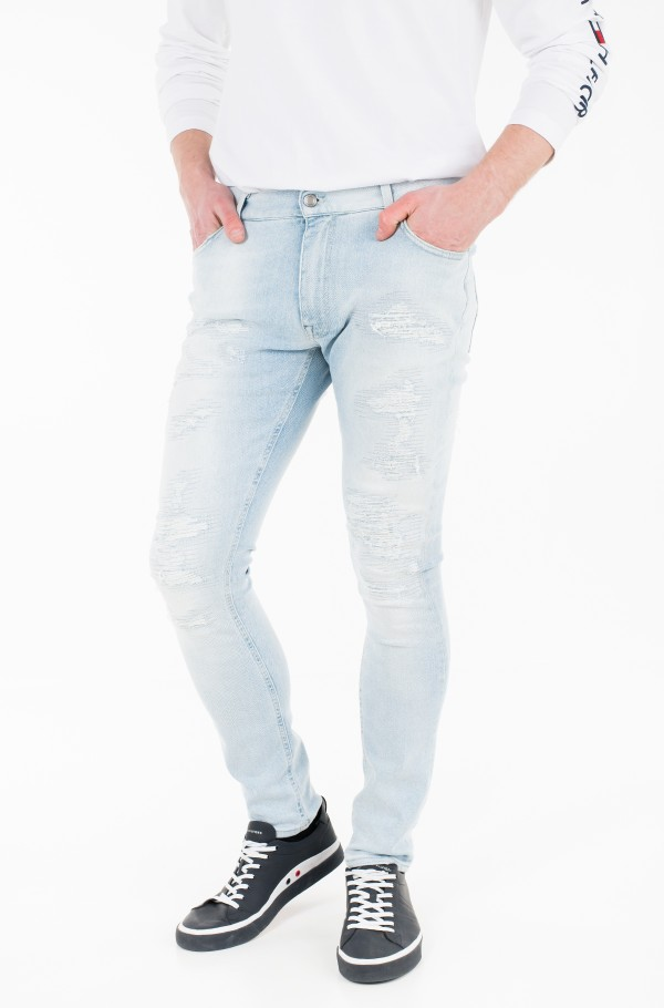 LEWIS HAMILTON DISTRESSED JEAN