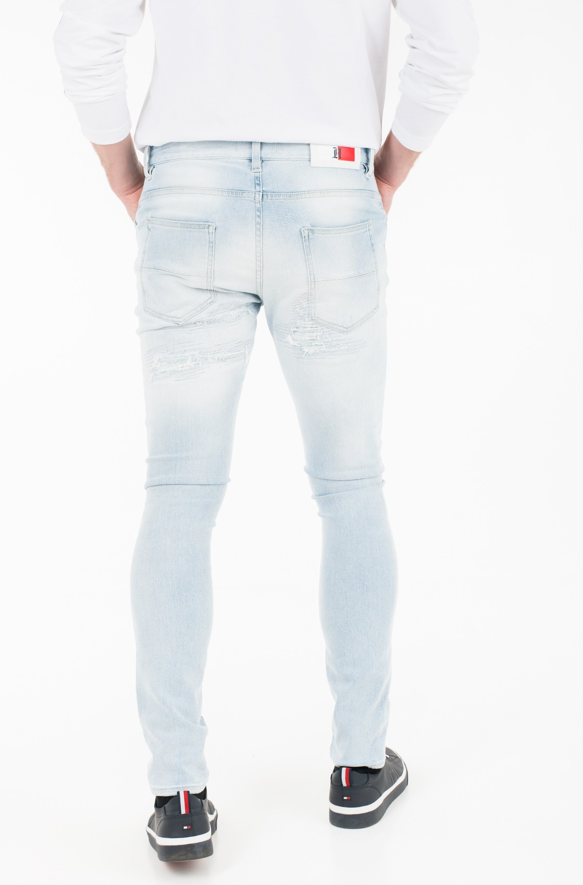 Džinsi LEWIS HAMILTON DISTRESSED JEAN-full-2