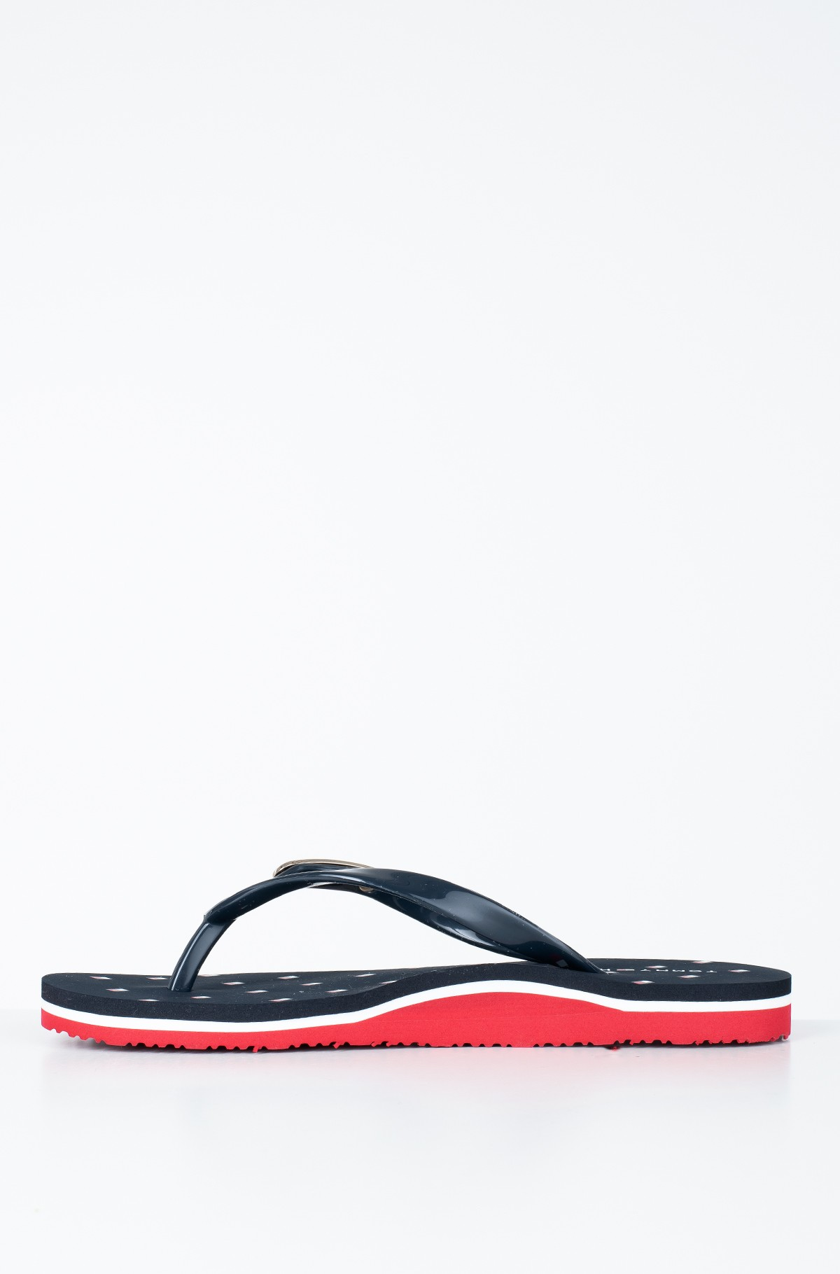 Plätud FLAG PRINT RUBBER BEACH SANDAL-full-2