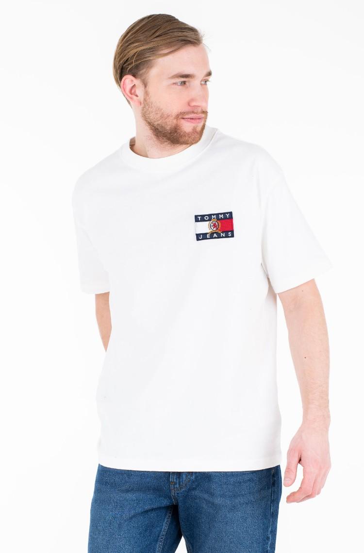 9a095011 T-shirt TJM CREST FLAG TEE M13 Tommy Jeans, Mens Short-sleeved ...