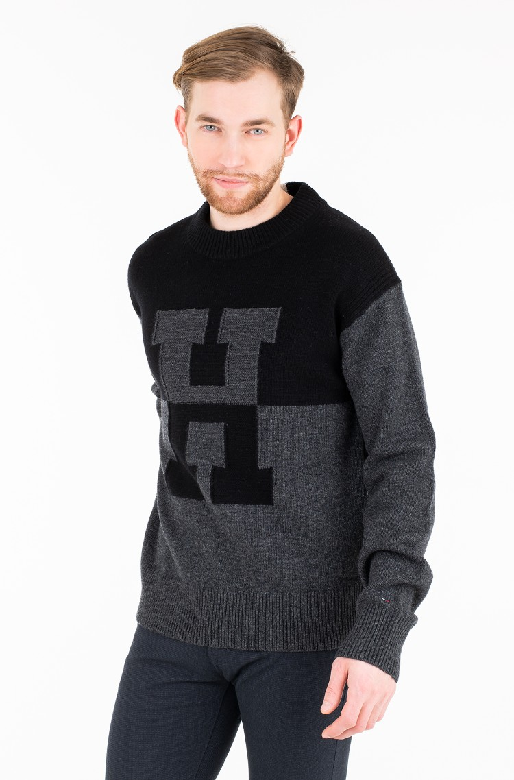 Knitwear Oversized Innovative H Sweater Tommy Hilfiger Mens