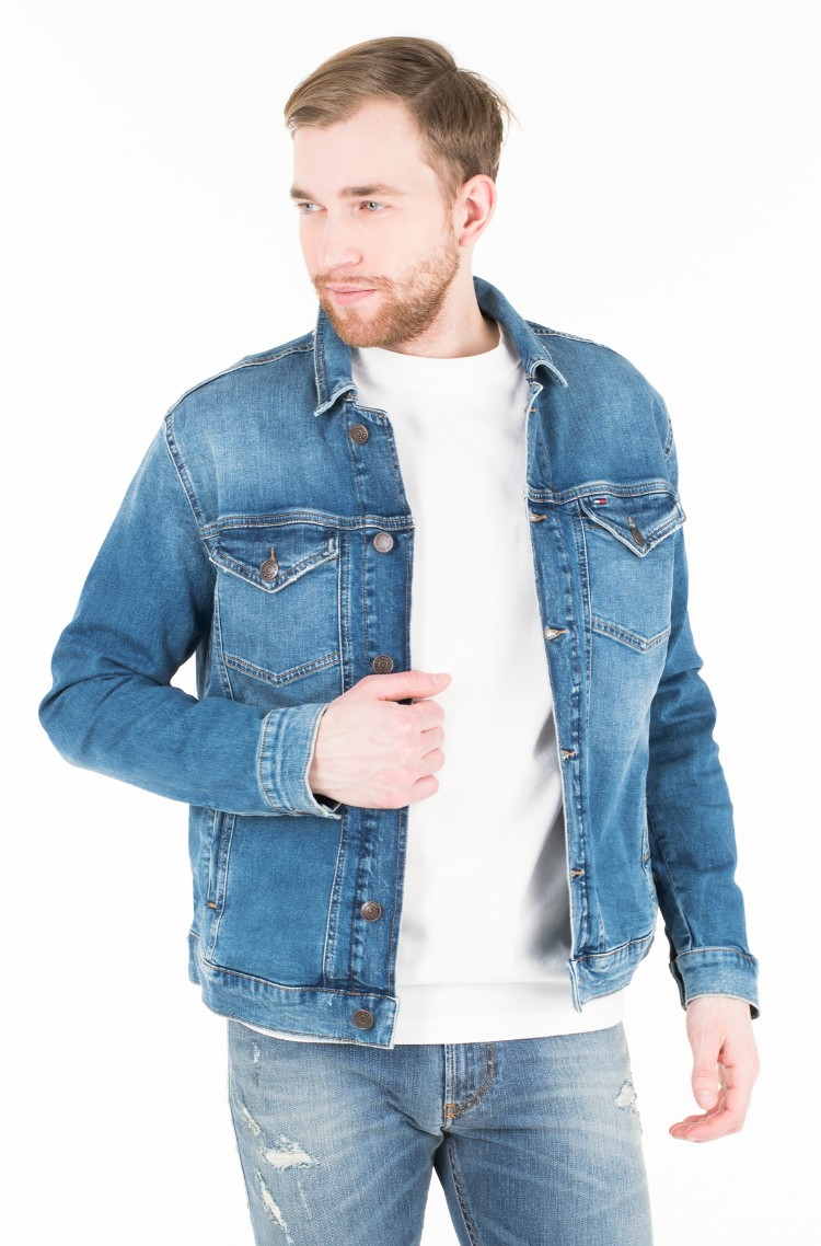 bef51929 Denim jacket REGULAR TRUCKER JACKET CLMMB Tommy Jeans, Mens Jeans ...