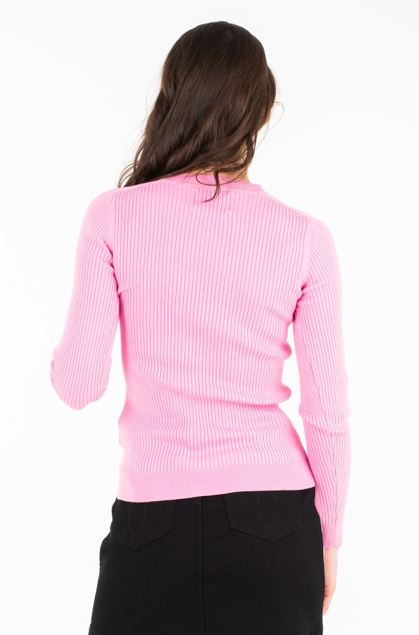 ICONIC RIB SWEATER-hover