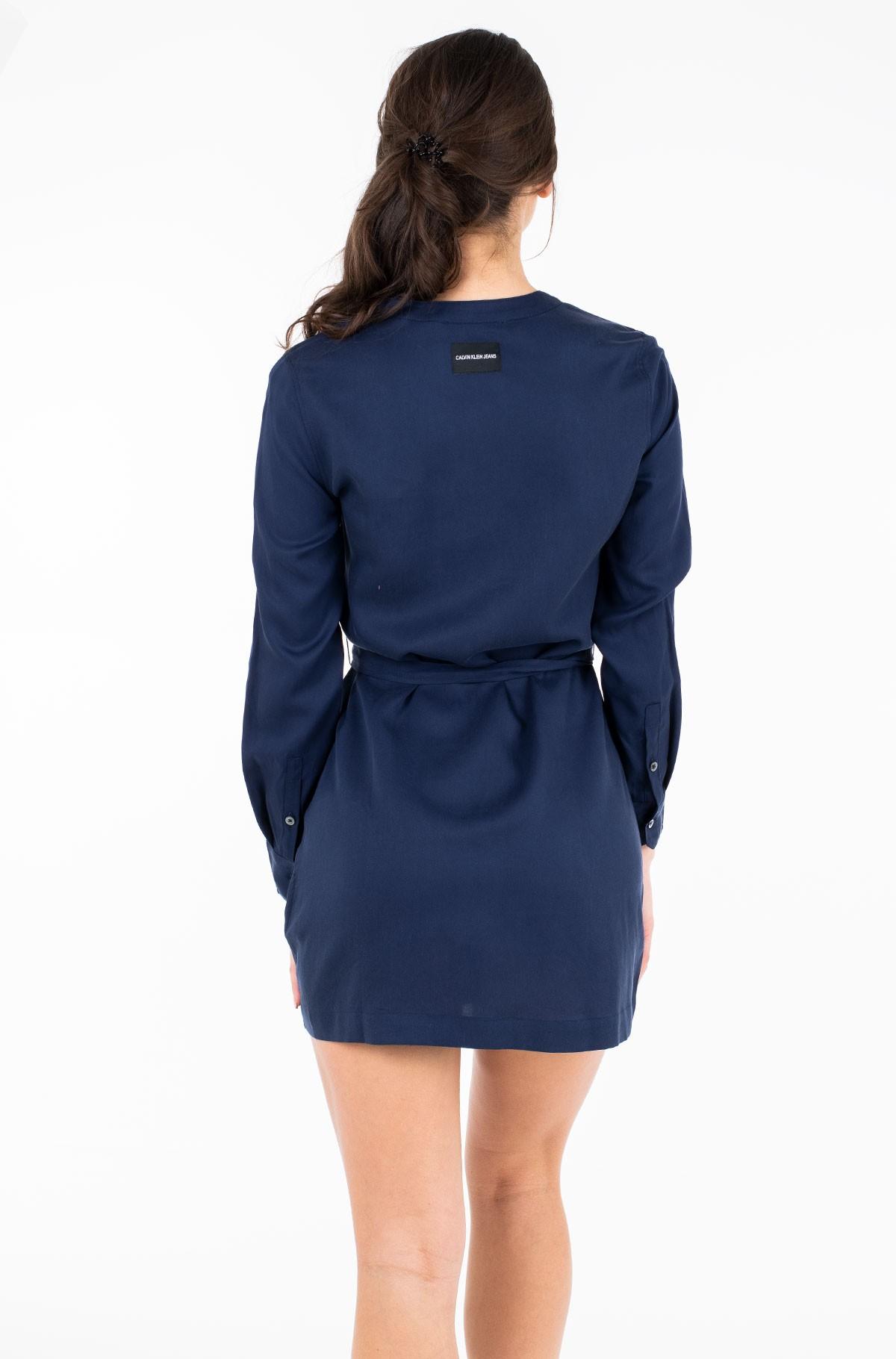 Kleit TENCEL TIE DRESS LS-full-2