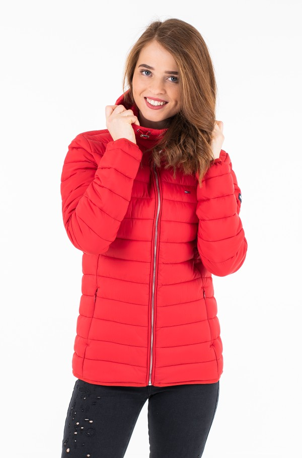 TJW BASIC QUILTED HOODED JACKET