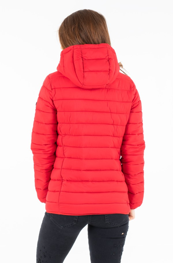 TJW BASIC QUILTED HOODED JACKET-hover