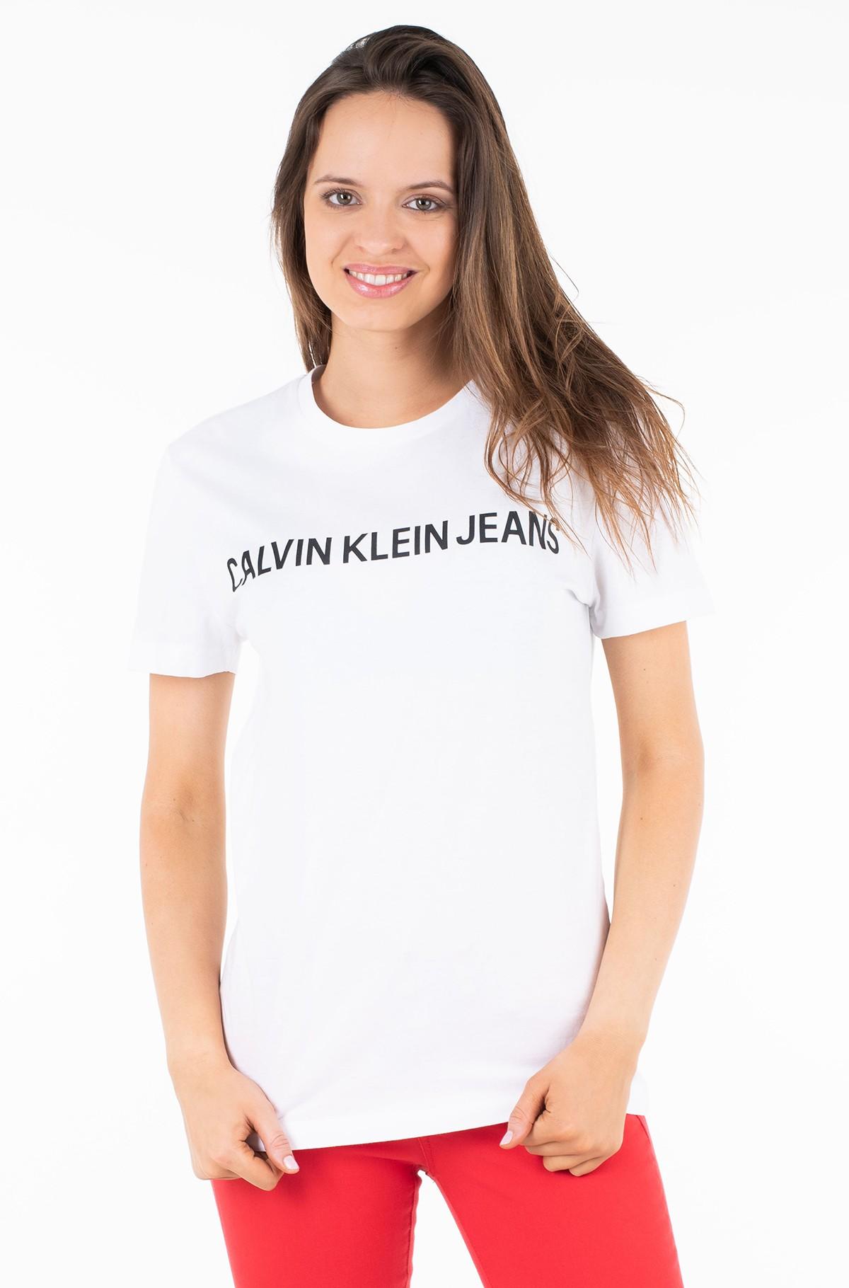 Marškinėliai CORE INSTITUTIONAL LOGO SLIM TEE-full-1