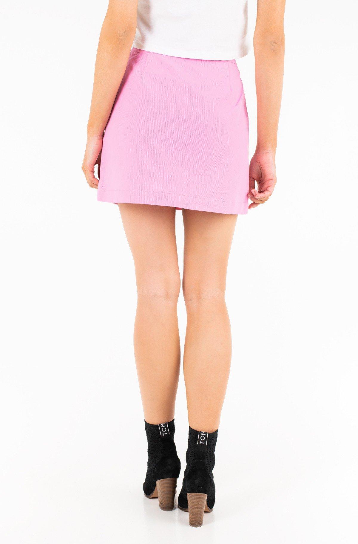 Skirt COTTON BUTTONED MINI SKIRT-full-2