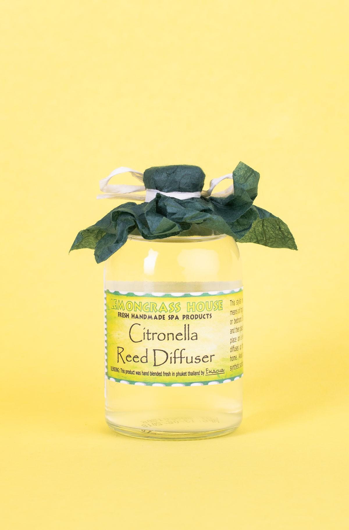Home perfumer REED OIL DIFFUSER CITRONELLA 120ml-full-1