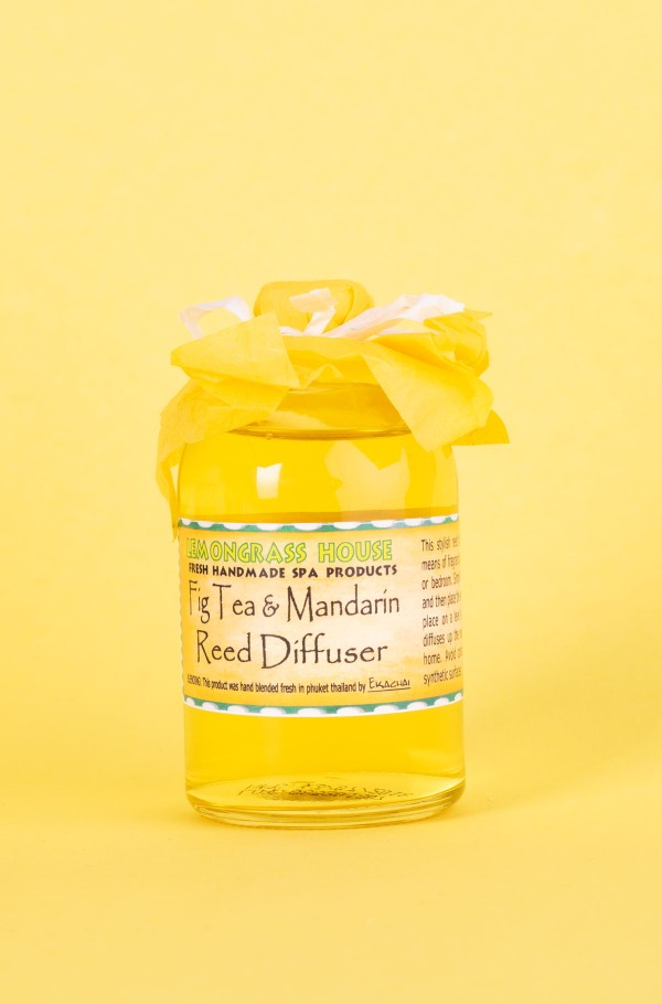 REED OIL DIFFUSER FIG TEA/MANDARIN 120ml