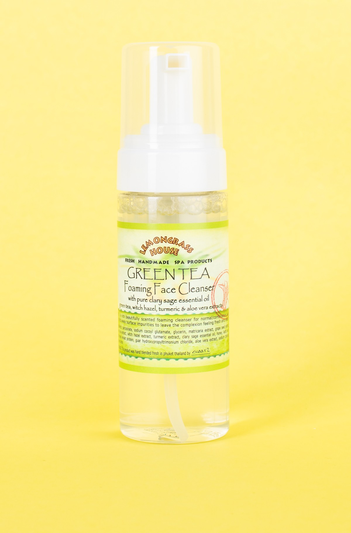 Face cleanser FOAMING FACE CLEANSER GREEN TEA 150ml-full-1