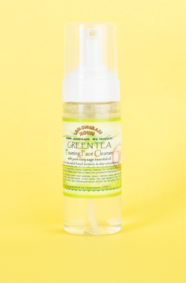 FOAMING FACE CLEANSER GREEN TEA 150ml