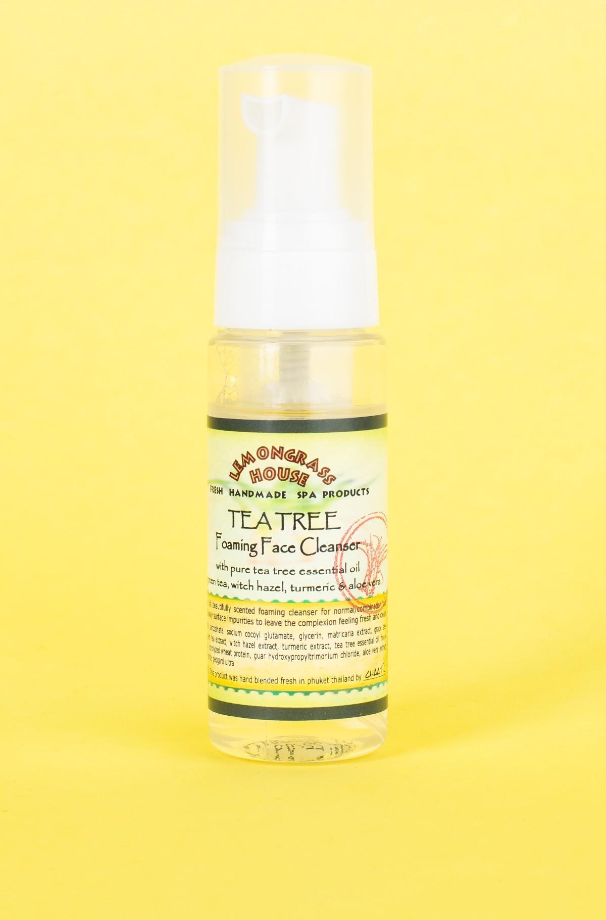 Näopuhastusvaht FACE FOAM CLEANSER TEA TREE 50 ML-full-1