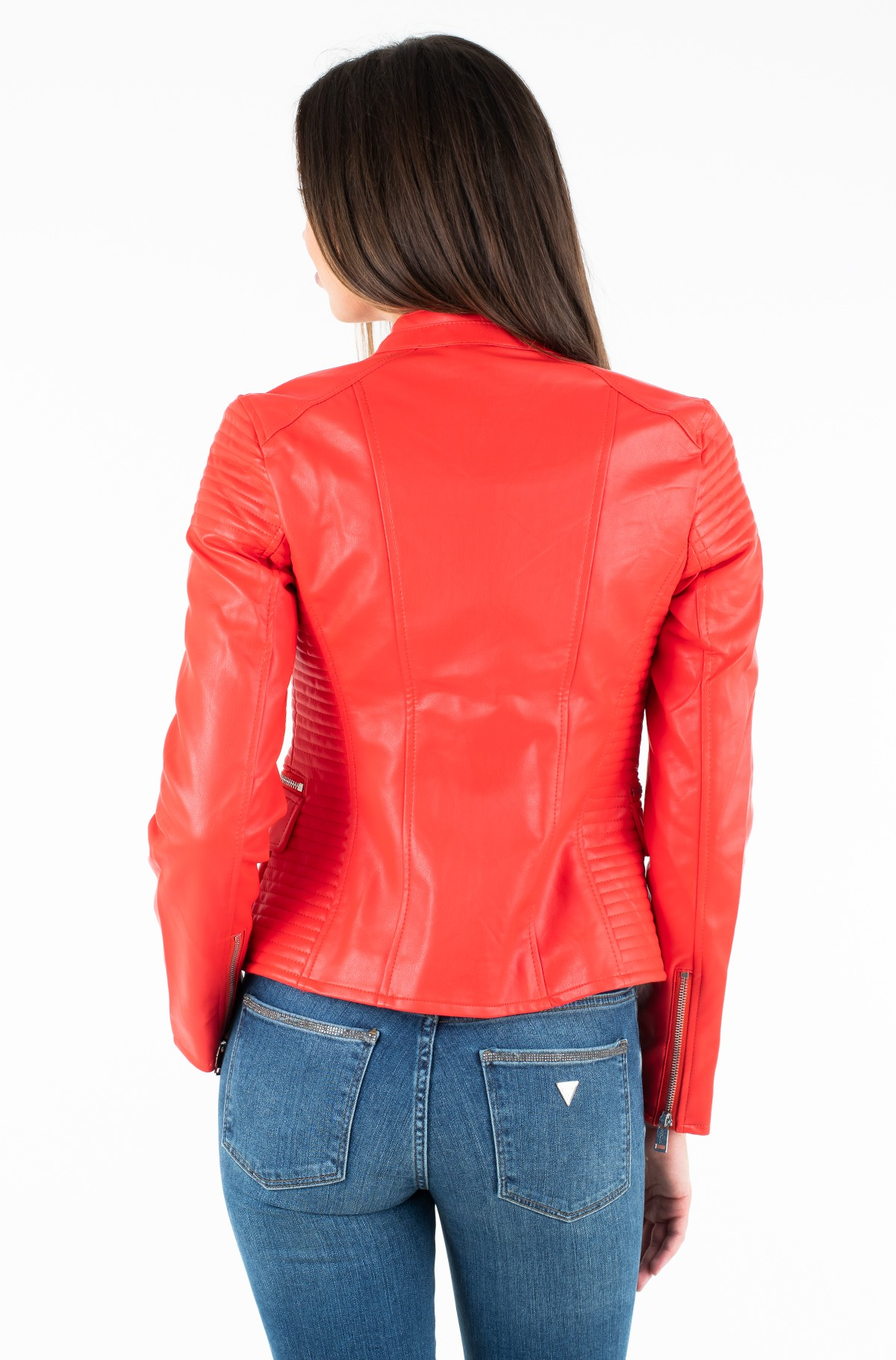 Leather jacket W92L37 W9VO0-full-3