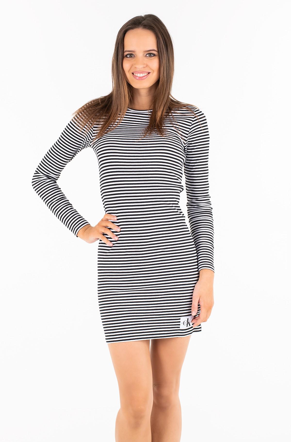 Kleit STRIPED RIB DRESS-full-1